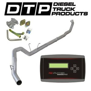 Raceme Jr 5 Exhaust Dpf Delete For Dodge Cummins Diesel 6 7 07 12 Egr
