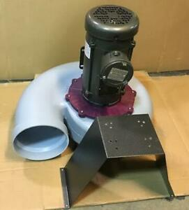 Plastec Ventilation Inc Pla25xs4 3mpw7 3 4 Hp Hazardous Location Utility Blower