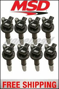 Msd Ignition Coils Street Fire Ford 5 0l 4 valve 11 14 8 pack