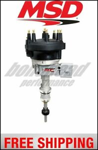 Msd Ignition Distributor Street Fire Ford 5 0l Mustang 86 93 With Module