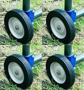 4 Ea Speeco Products S16100600 Farmex Replacement Rolling Fence Gate Wheel