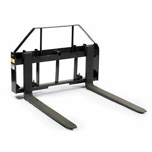 48 Pallet Fork Attachment Landscape Forks Kubota holland Skid Steer Quick At