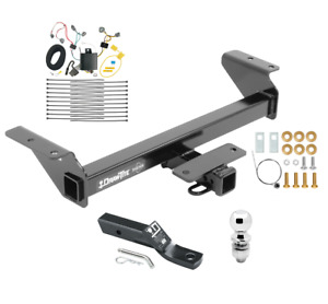 Trailer Tow Hitch For 16 20 Toyota Tacoma Complete Package W Wiring And 2 Ball