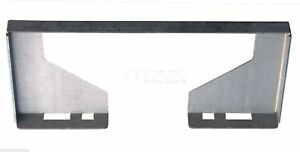 Hd 1 2 Quick Tach Attachment Mount Plate Skid Steer Bobcat Skid Steer Mpco