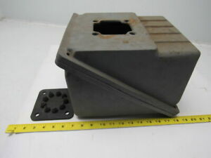 Large Heavy Duty Cast Iron Electric Motor Terminal Conduit Box W cover