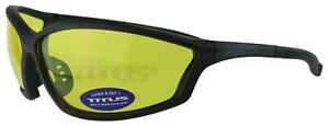 Titus G27 Competition W Rx able Lens Safety Glasses Shooting Motorcycle Ansi Z87