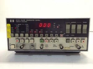 Hp Agilent Keysight 8112a Pulse function Generator 50 Mhz With Calibration