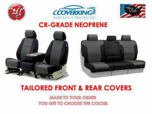 Coverking Neoprene Front Rear Seat Covers For Toyota Tacoma 1995 2004