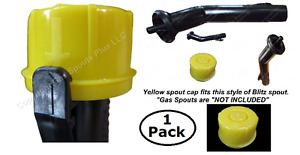 Blitz Yellow Spout Cap Fits Self venting Gas Can Spouts 900302 900092 900094 New