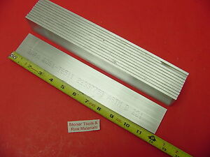 12 Pieces 3 16 X 2 Aluminum 6061 T6511 Flat Bar 12 Long 187 x 2 Mill Stock
