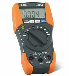 Ht Instruments Ht326 Cat Iv Digital Multimeter With Capacitance And Duty Cycle