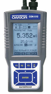 Oakton Wd 35408 81 Con 610 Meter Kit With Calibration