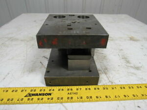 Punch Press Die Set shoe Rectangular Back 2 Post 6 w X 7 Fb 4 3 4 Throat