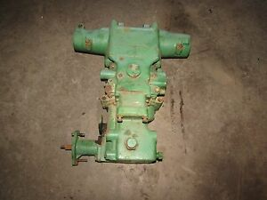 John Deere 1010 Tractor Complete Rock Shaft Housing Valve Assembly