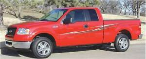 Slipstream Truck Decal Stripes Graphic Premium Vinyl Graphics For Ford F 150