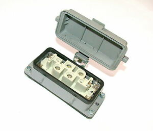 Up To 4 Harting 4 pin Male Connector And Base Model Han k4 2f