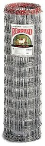Red Brand 70305 48 H X 100 Ft 4 X 4 Mesh Galvanized Sheep Goat Fencing