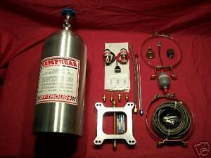 Compucar Nitrous 50 150hp Carb Kit P 540100