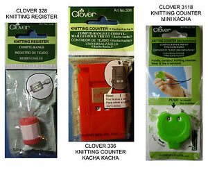 New Clover Knitting Counter You Choose Register Counter Kacha Kacha Mini