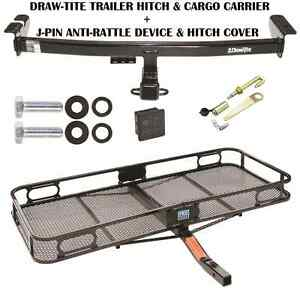 2003 2014 Volvo Xc90 Trailer Hitch Cargo Basket Carrier Silent Pin Lock Tow