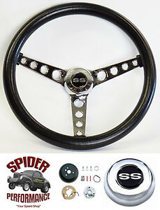 1969 1973 Chevelle Steering Wheel Ss 14 1 2 Classic Chrome Steering Wheel