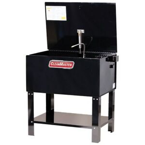 30 gallon Cleanmaster Commercial Parts Washer Made In Usa kt 200ds