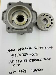 Genuine Sauer Sundstrand 18 Series Charge Pump Kit Hydraulic Pump 9510329 002