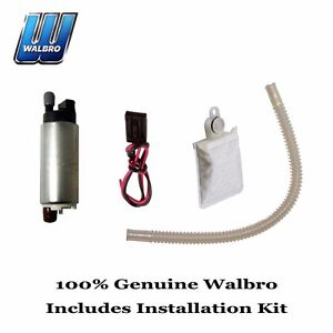 New Walbro High Performance 255 Lph Fuel Pump Installation Kit Gss342 1000