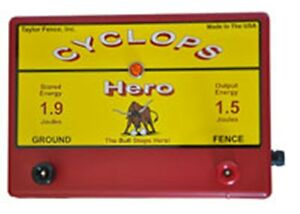 Cyclops Hero 1 5 Joule 15 Acre Ac Powered Electric Fence Charger Energizer