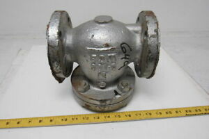 Lunkenheimer Fig 1572 c 2 Cast Steel Swing Check Valve Class 150 Flanged