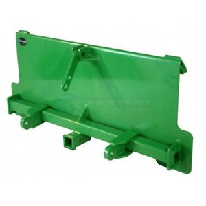 Titan 3 point Adapter Plate And Trailer Hitch Made To Fit John Deere Hook And P