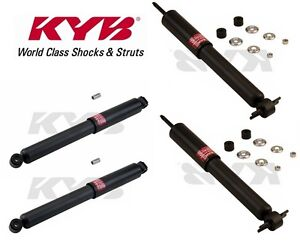 Kyb 4 Shocks For Toyota Pickup 84 To 94 Tacoma 2wd 95 96 97 98 343209 344055