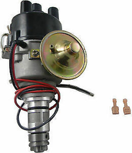 Pertronix Flame Thrower Distributor D176600 Neg Ground Mga Mgb Ah Sprite 4 Cyl