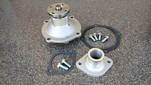 Bb Mopar dodge chrysler 350 440 Aluminum Water Pump And Housing Thermostat Inlet