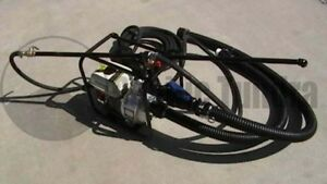 Commercial Asphalt Sealcoating Spray System Sand Mixtures 5 5 Hp 50 Hose