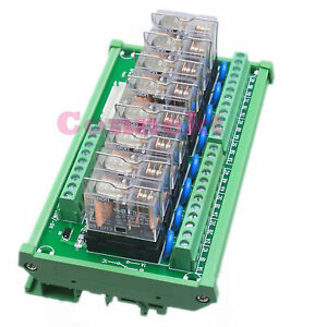 G2r 1 e 24vdc 16a Npn 8line Relay Driver Module Enlarge Expansion Board Scm Plc