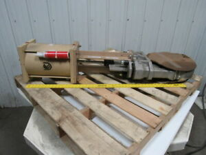 United Conveyor P n 440 140 4 10 150 Cwp Stainless Knife Gate Valve W actuator