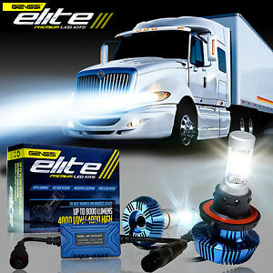 Led Headlight Bulb Kit For International Truck Pro Star Prostar 2008 2017 Low