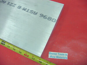 1 2 X 12 Aluminum 6061 Flat Bar 18 Long Solid T6511 50 Plate Mill Stock