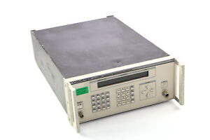 Wavetek 2410 0 01 1100mhz Synthesized Signal Generator