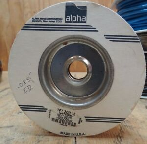 Alpha Wire Tft 200 12 Teflon Tubing Tin Wall Natural Color 085 I d 40 Feet