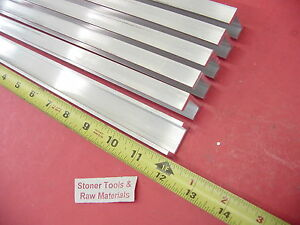 6 Pieces 1 x 1 2 Aluminum Channel 6063 X 1 8 Wall 12 Long T52 Mill Stock