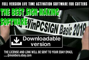 2018 Brand New Winpcsign Basic Software 600 Vinyl Cutters Drivers Easy To Use