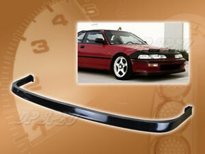 For 92 93 Acura Integra Jdm Style Front Bumper Lip Kit Spoiler Polyurethane Pu