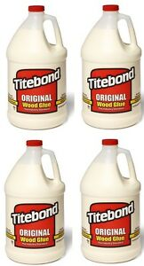4 Ea Ea Franklin 5066 1 Gallon Jugs Titebond Original Wood Glue