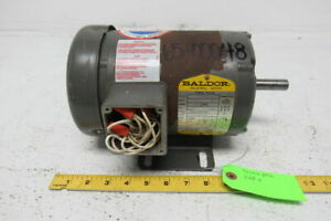 Baldor M3539 Electric Motor 1 2 Hp 3ph 1140rpm