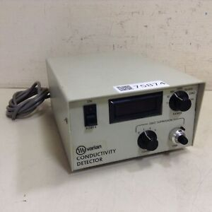 Varian Conductivity Detector 113348 Used 75874