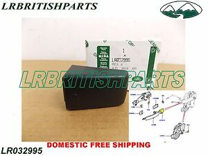 Land Rover Lr4 Lr3 Lr2 Door Driver Handle Cap Cover Lr032995 Genuine New Black