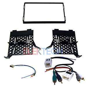 Radio Replacement Dash Kit W Amp Retain Harness Antenna For Nissan Frontier