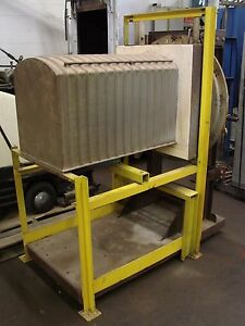 Lindberg Portable Muffle Atmosphere Retort For Box Heat Treating Furnace Alloy